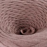 Пряжа трикотажная широкая 'Saltera' 100м/300гр, ширина 7-9 мм (106 бежевый меланж)