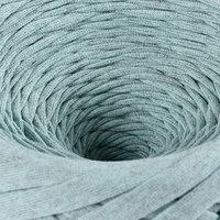 Пряжа трикотажная широкая 'Saltera' 100м/300гр, ширина 7-9 мм (109 ментол меланж)