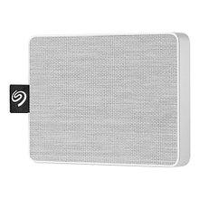 "Seagate STJE500402 Внешний твердотельный накопитель One Touch SSD 500ГБ 2.5"" USB 3.0 White"