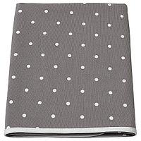 ЛЕН Пеленальная подстилка, точечный, серый, 90x70 см, фото 1