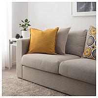 ГУРЛИ Чехол на подушку, золостисто-желтый, фото 1