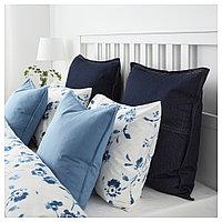 ГУРЛИ Чехол на подушку, голубой, фото 1