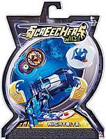 Screechers Wild: Машинка-трансформер Найтбайт, синий