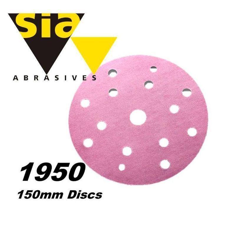 Абразивный круг Sia 1950 Siaspeed диаметр 150 мм Velcro 15 отверстий