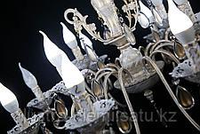 Люстра Классика 4804/8+4 BRIGHT WHITE GOLD, фото 2