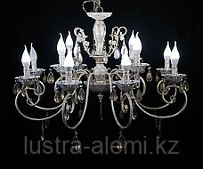 Люстра Классика 4804/8+4 BRIGHT WHITE GOLD, фото 3