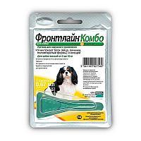 Капли от блох и клещей Фронтлайн Комбо для собак от 2 до 10 кг, Merial - 1 пип.