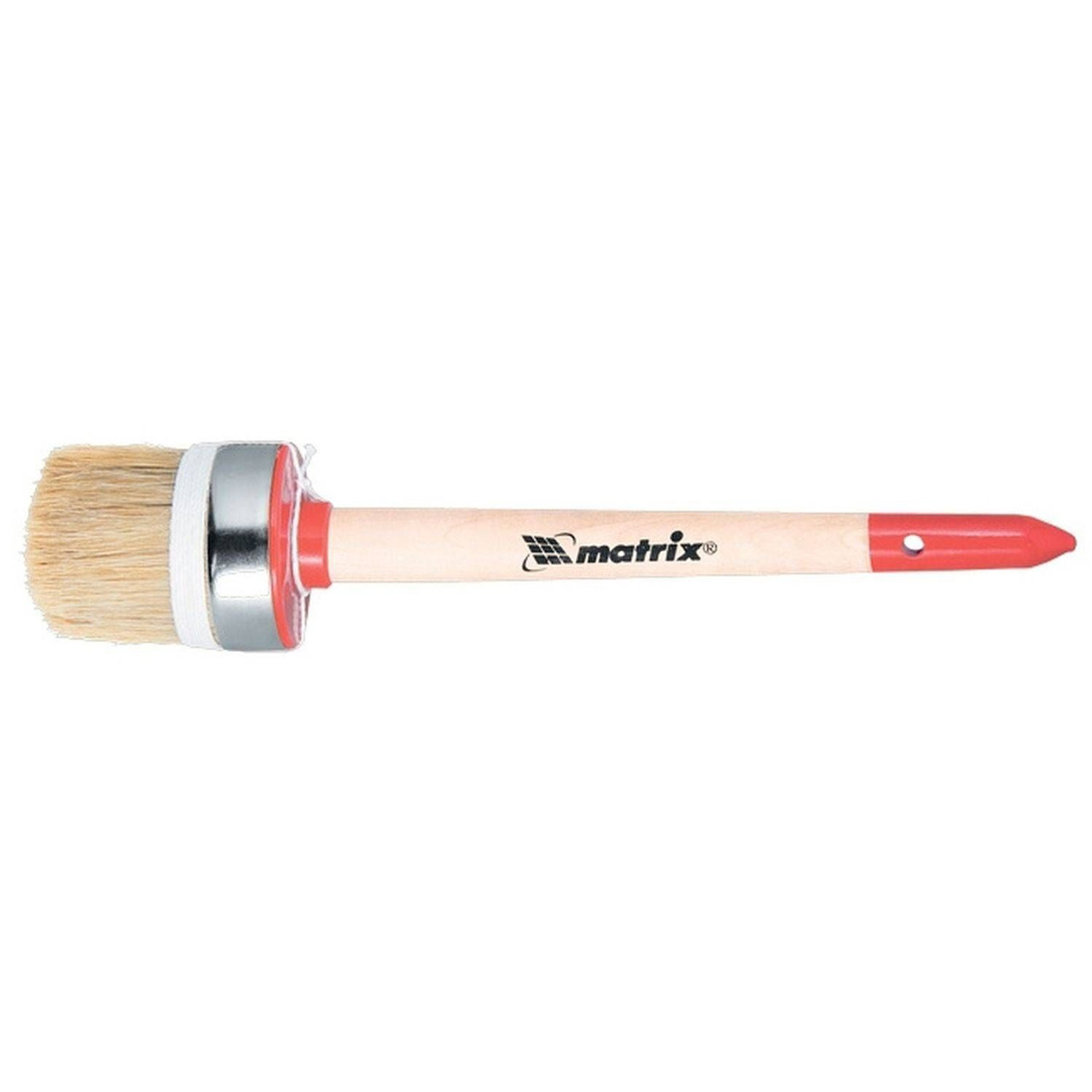 (82051) Кисть круглая Профи №14 (50 мм), натуральная щетина, деревянная ручка// MTX