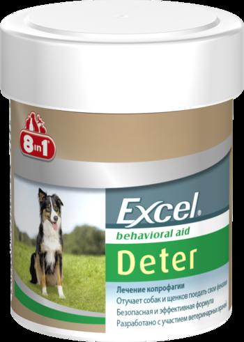 Кормовая добавка Excel Deter для отучения собак и щенков от поедания фекалий, 8 in 1 - 100 табл.