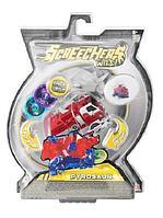 Screechers Wild: Машинка-трансформер Пирозавр, красный
