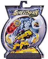 Screechers Wild: Машинка-трансформер Ви-Бон, желтый