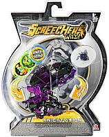 Screechers Wild: Машинка-трансформер Найтвижн, фиолетовый