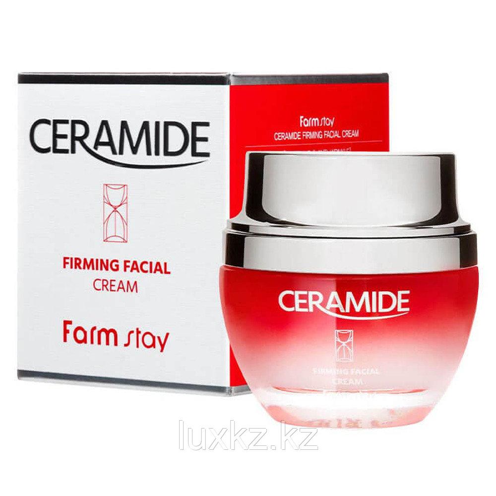 Укрепляющий крем для лица с керамидами от FarmStay Ceramide Firming Facial Cream