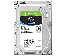 """Seagate ST3000VX009 Жесткий диск HDD 3TB SkyHawk 3.5"""" SATA 6Gb/s 256Mb 5400rpm для систем видеонаблюдения"""