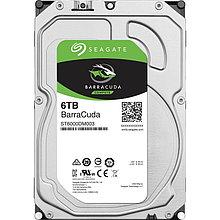 """Seagate ST6000DM003 Жесткий диск HDD 6Tb Barracuda 3.5"""" SATA 6Gb/s 256Mb 5400rpm"""