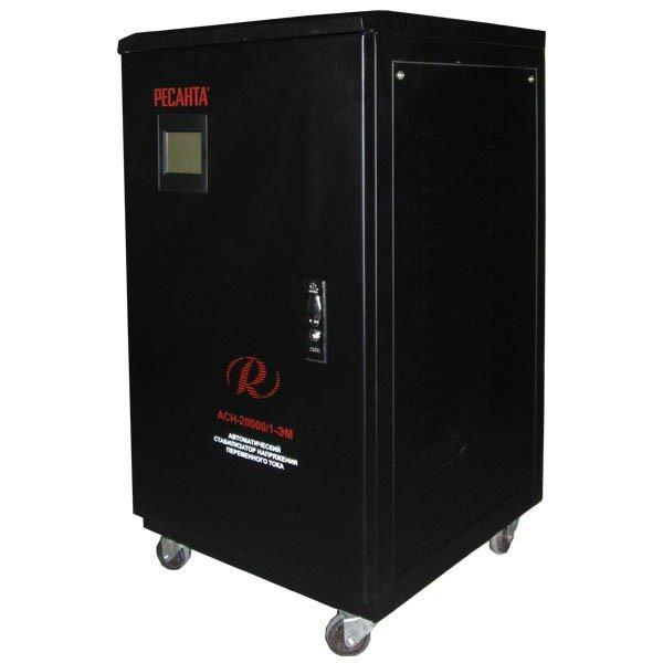 Стабилизатор напряжения РЕСАНТА АСН-20000/1-ЭМ 20 кВт Однофазный электромеханический