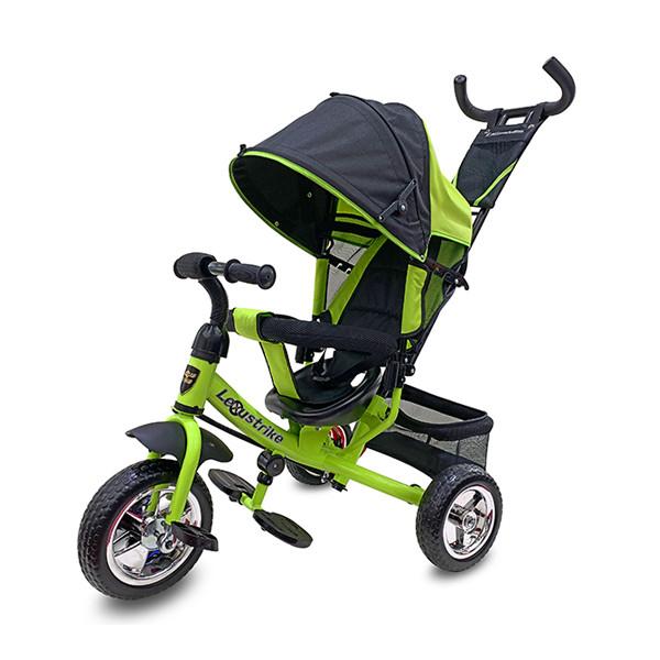Велосипед 3-х колесный Lexus Trike, колеса пластик, зеленый