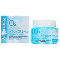Увлажняющий кислородный крем от FarmStay O2 Premium Aqua Cream