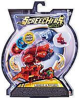 Screechers Wild: Машинка-трансформер Спайкстрип, красный