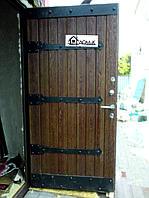 Дверь металлическая с МДФ на заказ