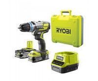 Дрель-шуруповерт бесщеточная аккумуляторная Ryobi R18DDBL-225B ONE+ 5133003611