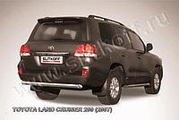 Защита заднего бампера d76 короткая LC200 2008-12