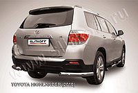 Уголки d76 радиусная Toyota Highlander 2011-13