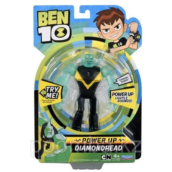 Фигурка бен тен Ben10 16см (свет, звук) Алмаз