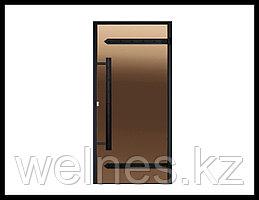 Дверь для паровой комнаты Harvia STG LEGEND (короб - алюминий, стекло - бронза, без порога)