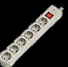 Сетевой фильтр Defender DFS 601 6 розеток, 1.8 м. (серый)