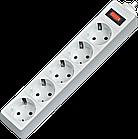 Сетевой фильтр Defender ES 1.8, 5 розеток 1.8 м (белый)
