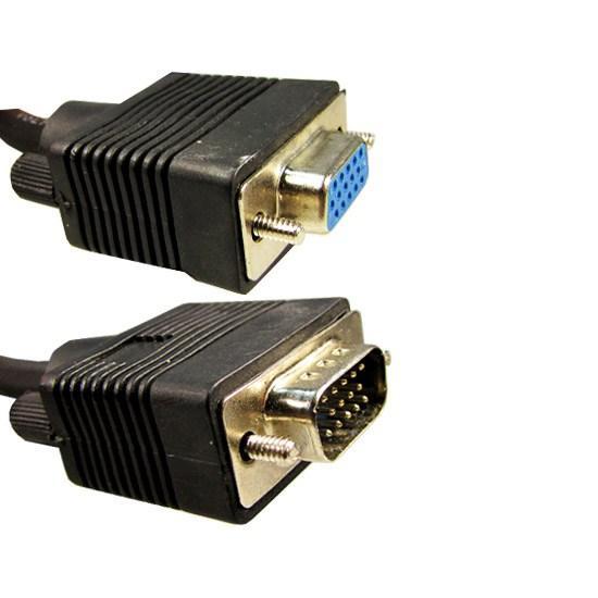 Удлинитель OEM VGA 15M/15F 5 м. (чёрный)