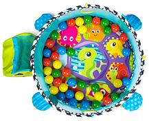 Развивающий коврик-манеж Activity Gym and Ball Pit с шариками 0+, фото 3