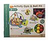 Развивающий коврик-манеж Activity Gym and Ball Pit с шариками 0+, фото 2