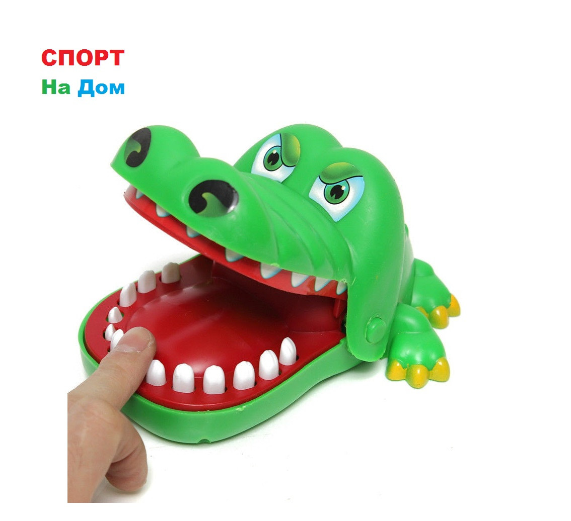 """Настольная детская игра """"Крокодил стоматолог"""""""