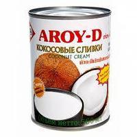 """Кокосовые Сливки 70% """"Aroy D"""", 560 мл"""