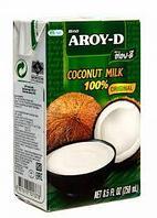 """Кокосовое молоко 70% """"Aroy D"""", 250 мл"""