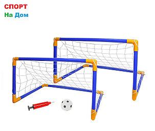 Детские футбольные ворота разборные с сеткой 2в1, фото 2