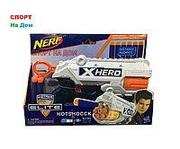 Бластер пистолет (аналог NERF) с мягкими пулями