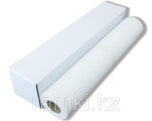 Матовый 0,61х18м (285гр/м2). Рулонный широкоформатный холст для струиной печати для широкоформатных принтеров, плоттеров
