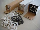 Матовый 0,61х18м (285гр/м2). Рулонный широкоформатный холст для струиной печати для широкоформатных принтеров, плоттеров, фото 4