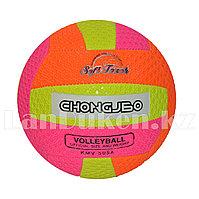 Мяч волейбольный разноцветный окружность 66 см KMV 505 A