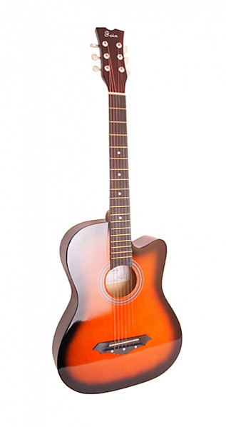 Акустическая гитара  Foix FFG-1038SB , санберст, с вырезом