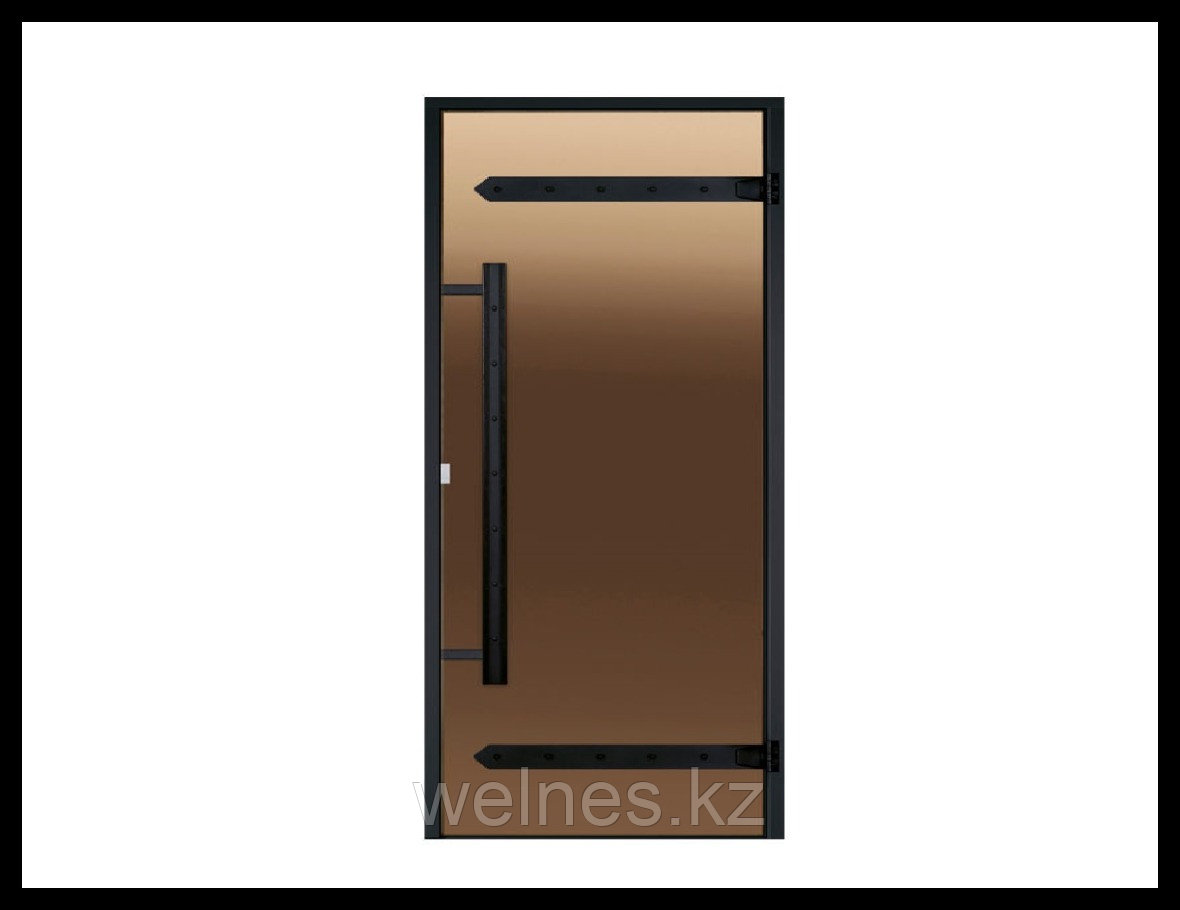 Дверь для бани Harvia STG LEGEND (короб - сосна, стекло - бронза, ручка - магнит)