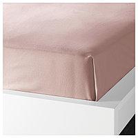 ДВАЛА Простыня, светло-розовый 240*260, фото 1