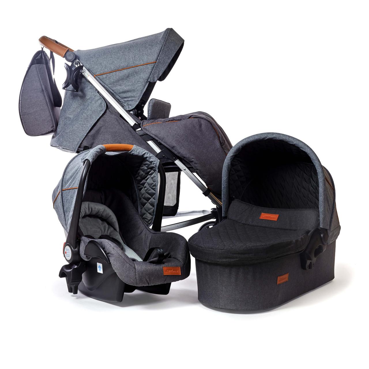 Детская коляска 3 в 1 SKILLMAX E50