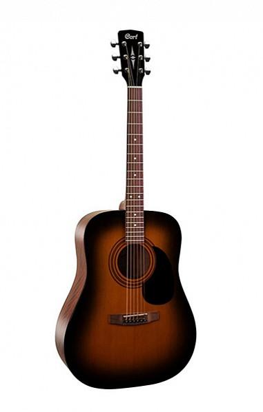 Акустическая гитара, санберст, Cort AD810-SSB Standard Series
