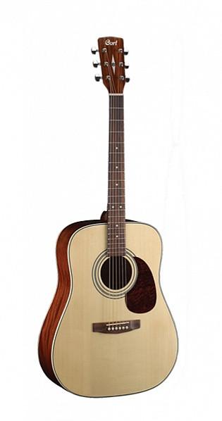 Акустическая гитара Cort EARTH70-NT Earth Series цвет натуральный глянцевый