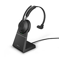 Беспроводная гарнитура Jabra Evolve2 65, Link380a UC Mono Desk Stand Black (26599-889-989), фото 1
