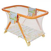 Манеж детский Арена Globex оранжевый, фото 1